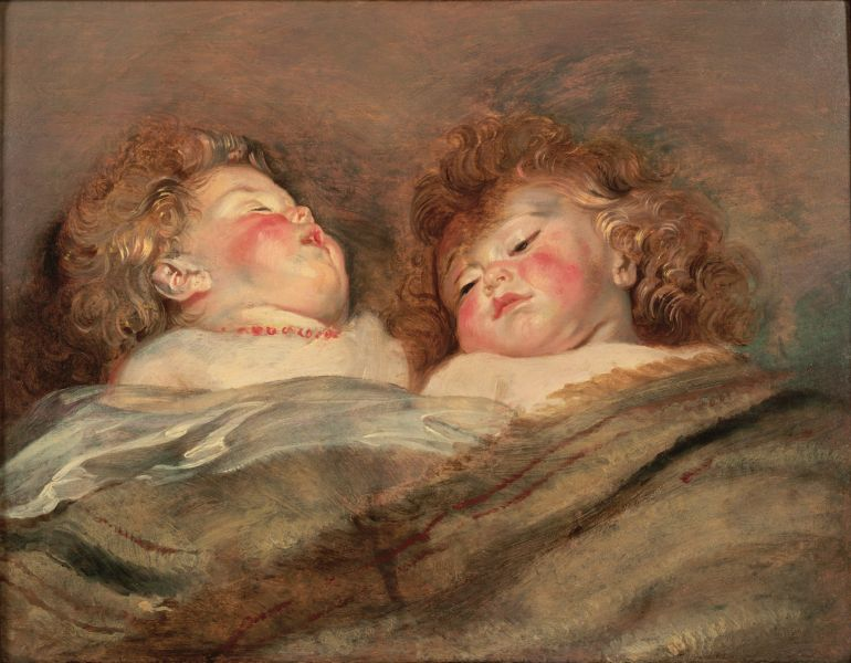 Rubens_Two_Sleeping_Children
